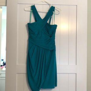 NWT BCBG Turquoise dress